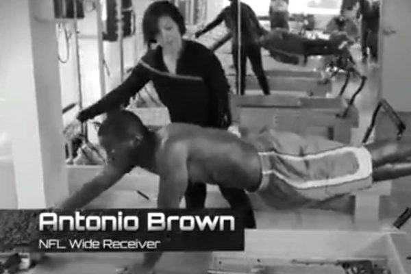 Antonio Brown's Pilates Reformer Workout