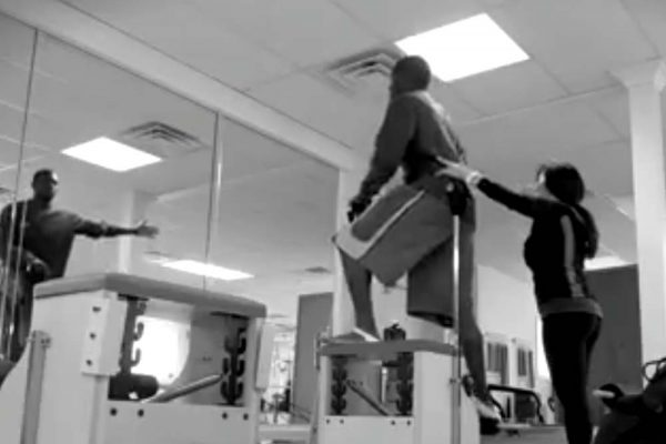 Pilates Chair Workout for Wide Receivers
