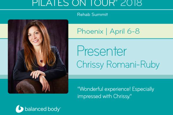 Pilates on Tour 2018