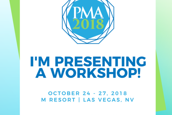 PMA Conference 2018