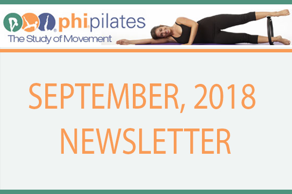 September Newsletter 2018